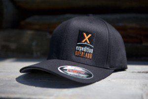 Your cries have been heard, and we now present, the Expedition Overland FlexFit hats! Sporting our super trendy logo in front, you'll never forget what you're favorite adventure travel series is, with the added bonus of keeping the sun off your pretty face this summer! *Sticker Included!*