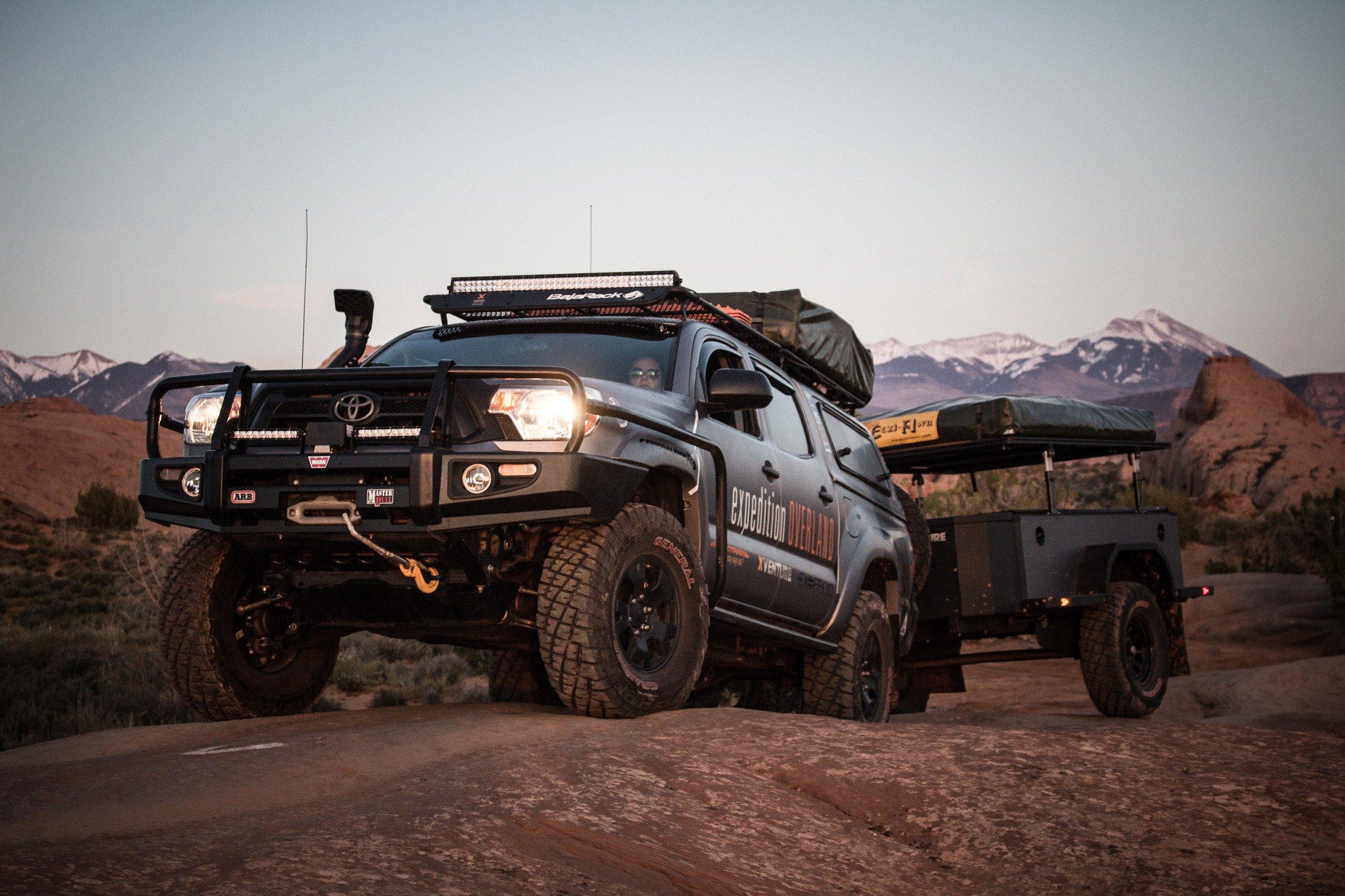 X Venture trailer by Schutt Industries - Expedition Overland