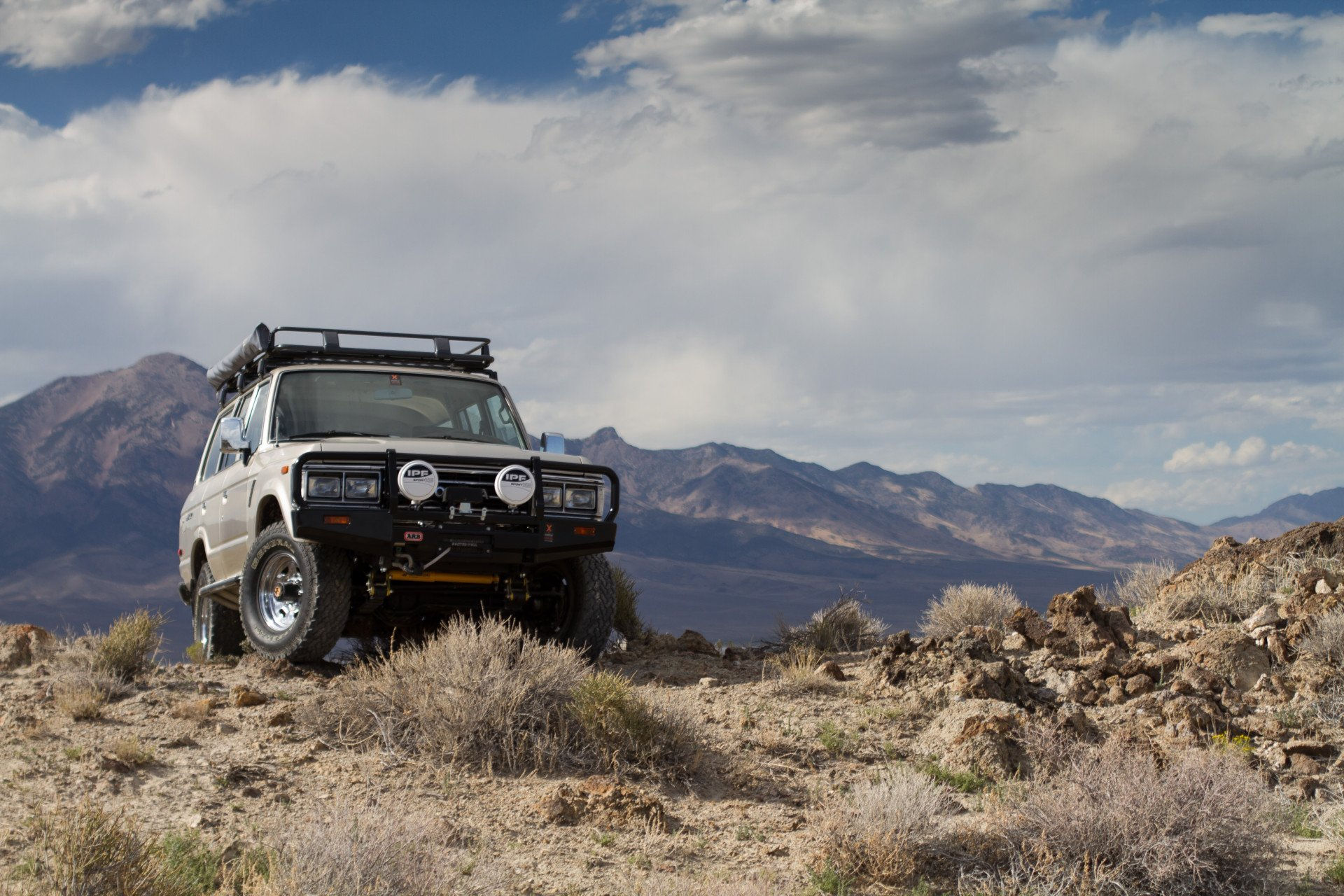 1989 Toyota Land Cruiser 62 Series Build 187 Expedition Overland