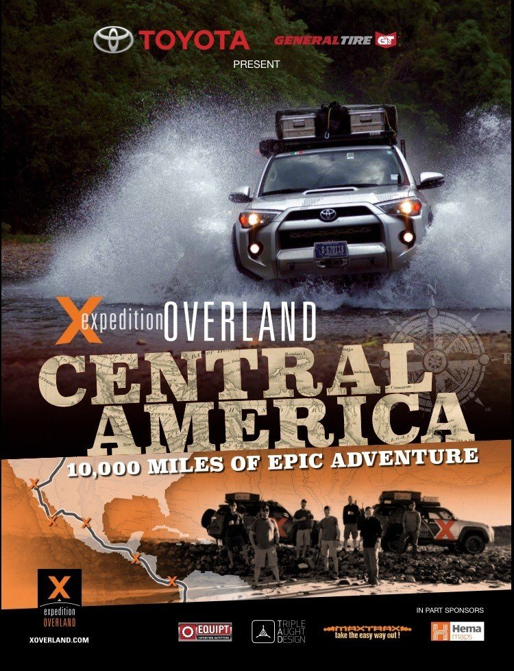 The X Store Xo Central America Expedition Poster