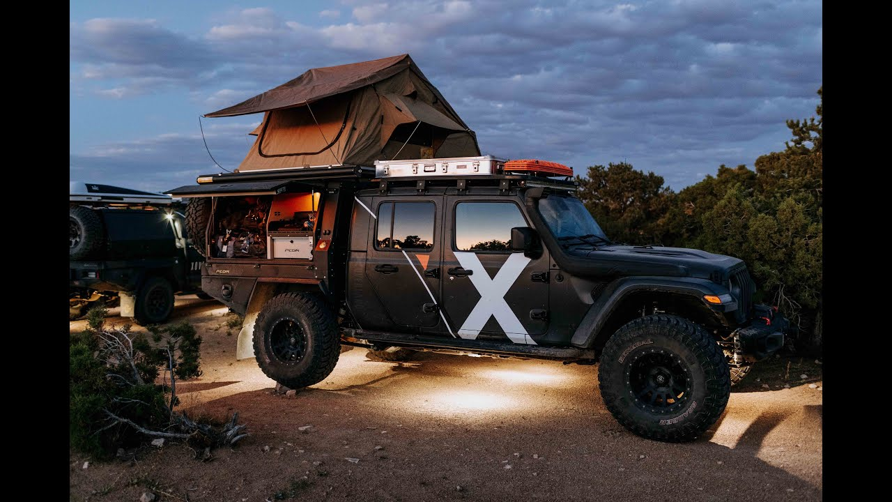 Jeep Gladiator Overland Build Walk Around In The Shop 18 Expedition Overland