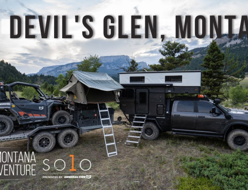 Ep2 Croft Solo Series: We Find An Epic River Campsite and Take a Polar Plunge in Devil's Glen!